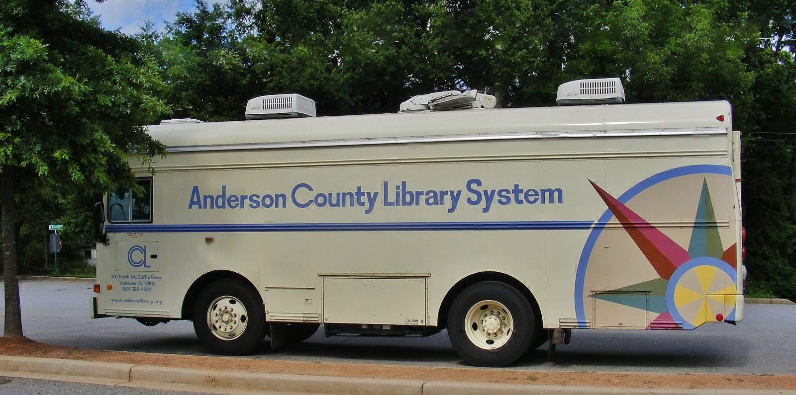 Bookmobile- Adult Education Center @ Anderson | South Carolina | United States