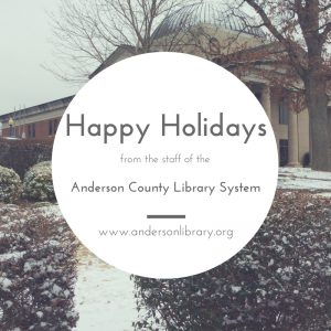 All Libraries Closed for Holidays @ All Library Locations