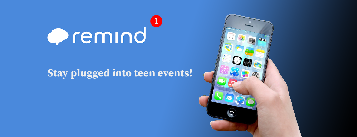 Remind Notices for Teen events