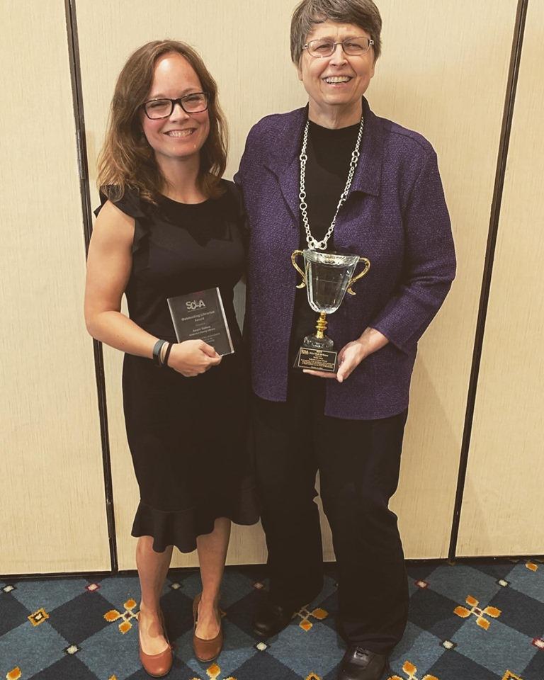 Annie Sutton and Faith Line Win Awards at SCLA 2019