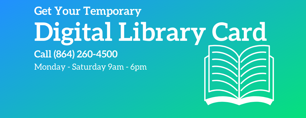 Digital Library Cards Available