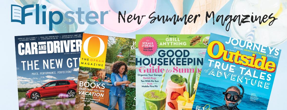 Flipster New Summer Magazines