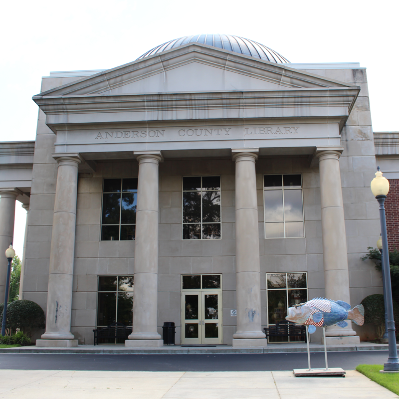 Anderson Main Library building