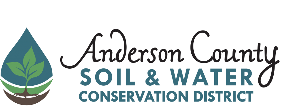logo for the Anderson County Soil and Water Conservation District