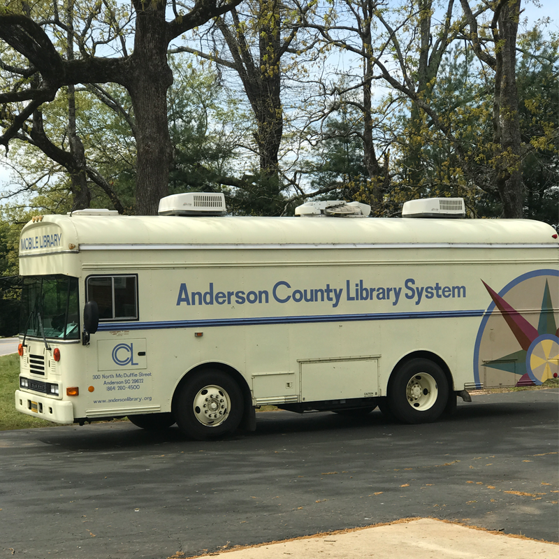 Exterior of the Bookmobile