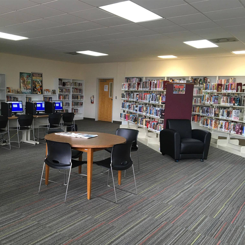 Interior of the Westside Library