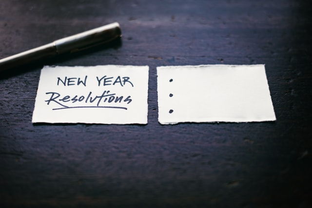 New Year's Resolutions with Help from the Library